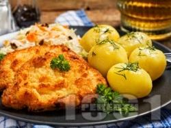 Мариновани пържени свински креолски котлети - снимка на рецептата